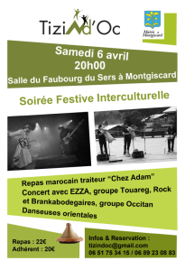 soiree interculturelle