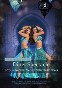 Diner affiche web