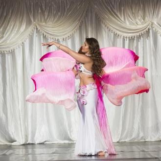 Danse orientale compagnie orchidées